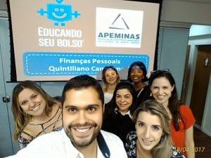 Palestras: Finanças Pessoais na Associação dos Procuradores de Minas Gerais - Turma A