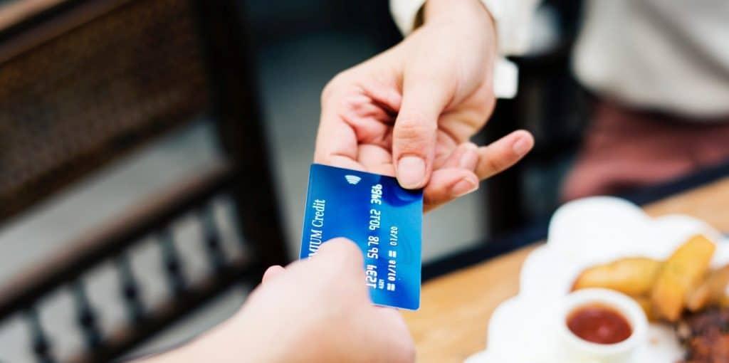 cartão de crédito para passar na maquineta