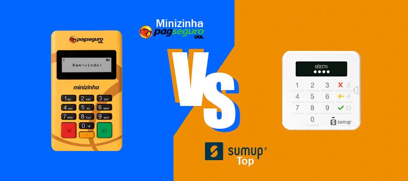 Descubra se a Sumup Top é uma maquininha de cartão melhor do que a Minizinha, maquininha de cartão, da Pagseguro - Uol Pagamentos