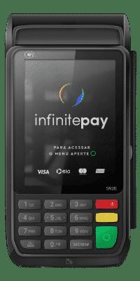 imagem ilustrativa da máquina de cartão infinitepay