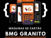 Conheça a BMG Granito! Maquininha de cartão com venda offline