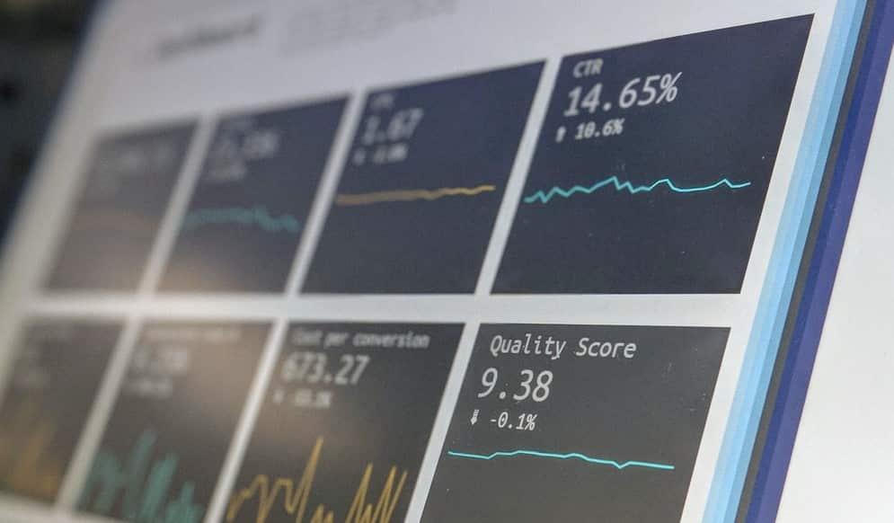 tela online de investimentos
